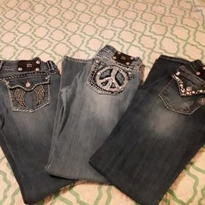 Miss Me Jean's/Women's/size:30/$25 per pair